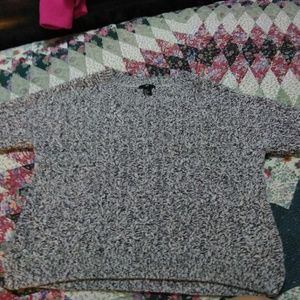 H and m short sweater
